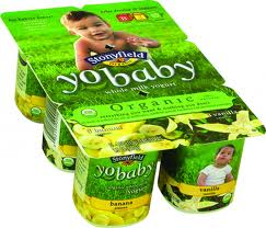 Yo baby Yogurt