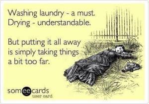 Washing Laundry Joke