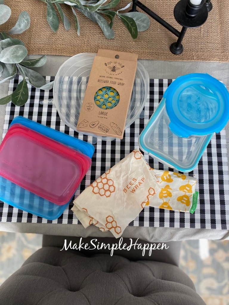 Plastic Free Food Storage