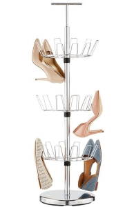 10073743-shoe-tree-3-tier-chrome_Container Store