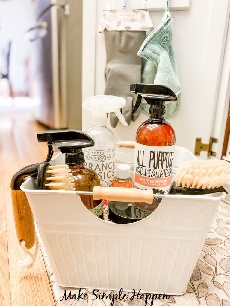 MakeSimpleHappen Cleaning Bin